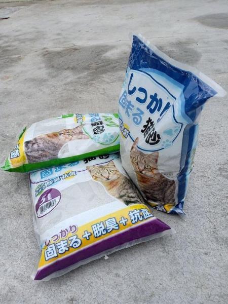 Cát huấn luyện mèo đi vệ sinh Nhật Bản 5L