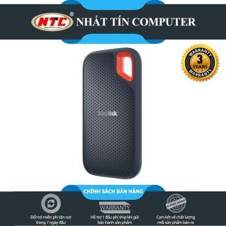 Ổ cứng di động SSD Sandisk Extreme Portable E60 USB 3.1 1TB 550MB s (Đen) - Nhất Tín Computer thumbnail
