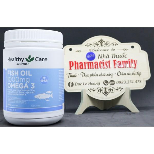 Healthy Care Fish Oil 1000Mg Omega 3 [Hàng Úc], 400 Viên giá rẻ