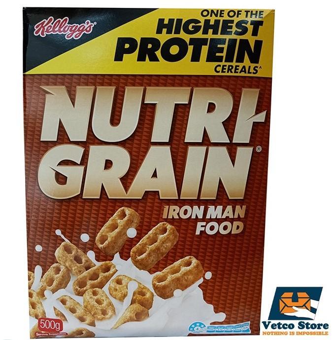 Ngũ Cốc Nutri Grain 500g Của Úc Đang Ưu Đãi Giá