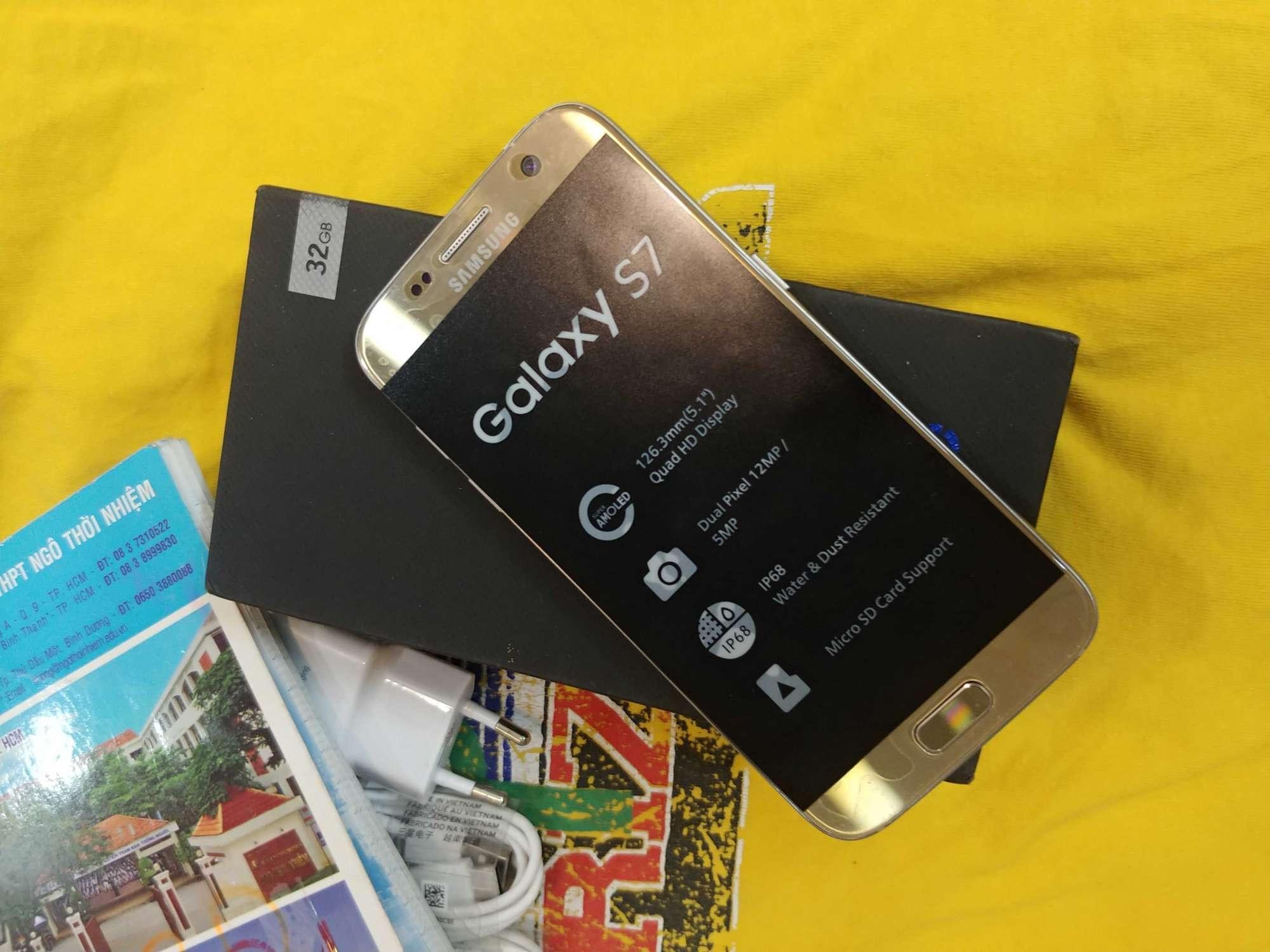 Samsung Galaxy S7 32Gb Mới Đủ Màu Khuyến Mại Hot