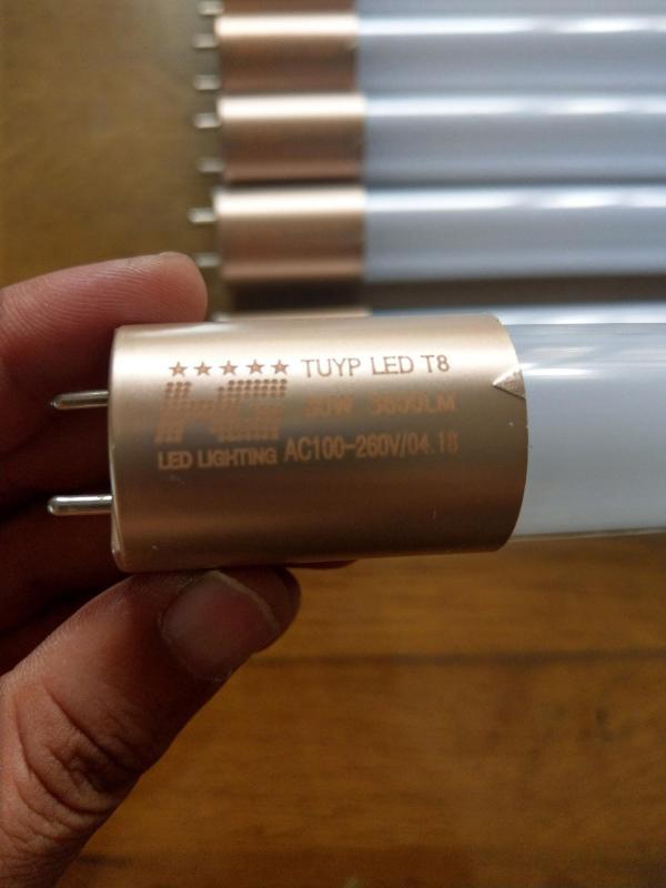 Combo 5 Bóng Đèn led Tuýp thủy tinh 30W 1,2m  ánh sáng trắng