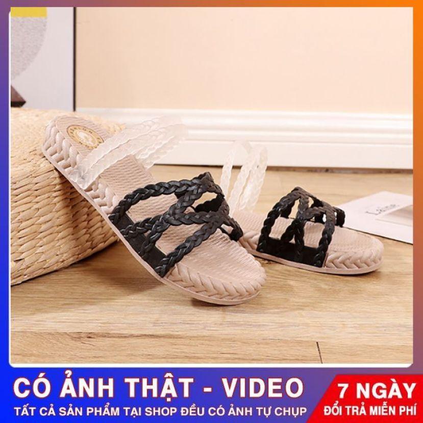 Giày Sandal Giày Nữ Quai Ngang Nữ Giày Quai Hậu Đi HỌC Phong Cách Hàn Quốc giá rẻ