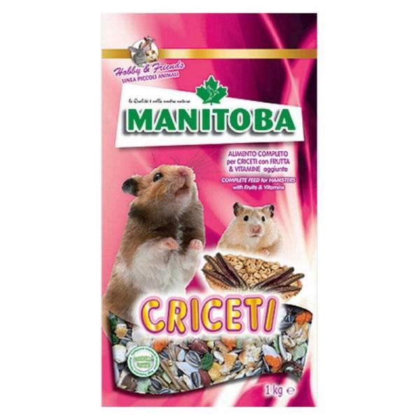 Thức ăn Criceti Manitoba 1kg dành cho mọi loại hamster
