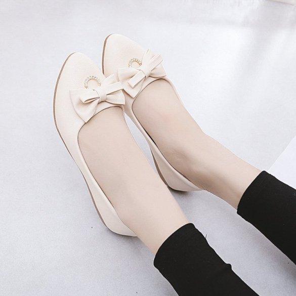 Giày nữ - Đế cao 2p - Giày búp bê giá rẻ