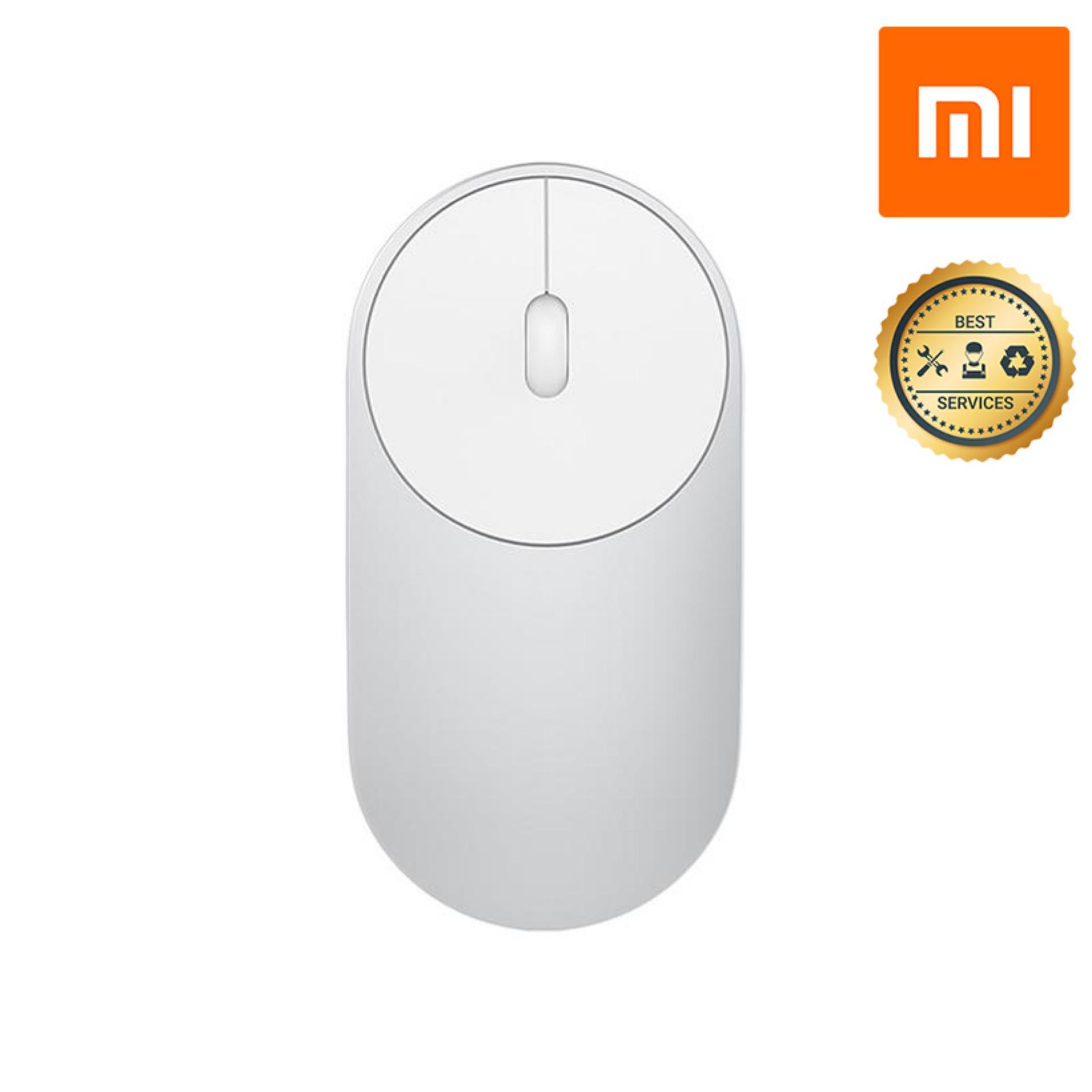 Giá Chuột Không Dây vỏ hợp kim Xiaomi Portable Bluetooth Dual Mode (Bạc)