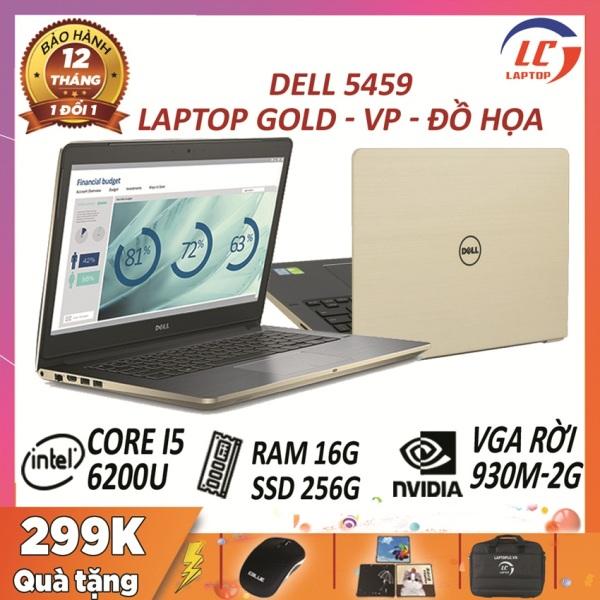 Bảng giá Dell vostro 5459 gold core  i5-6200U, vga rời nvidia 930m- 2G , màn 14.0 HD, laptop đồ họa giá rẻ Phong Vũ