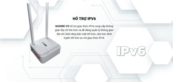 Router WiFi 300Mbps TOTOLINK N200RE-V5 - Hãng Phân Phối Chính Thức