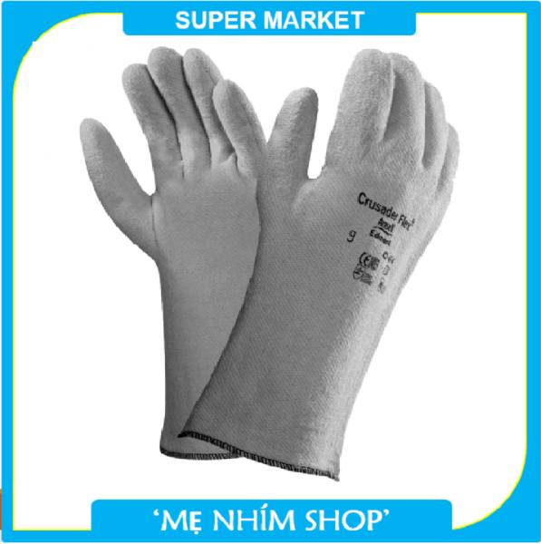 Găng tay chịu nhiệt ANSELL 42-474 bao tay chịu nhiệt 204°C chuyên dùng cầm lò nướng, tao tác cơ khí nóng