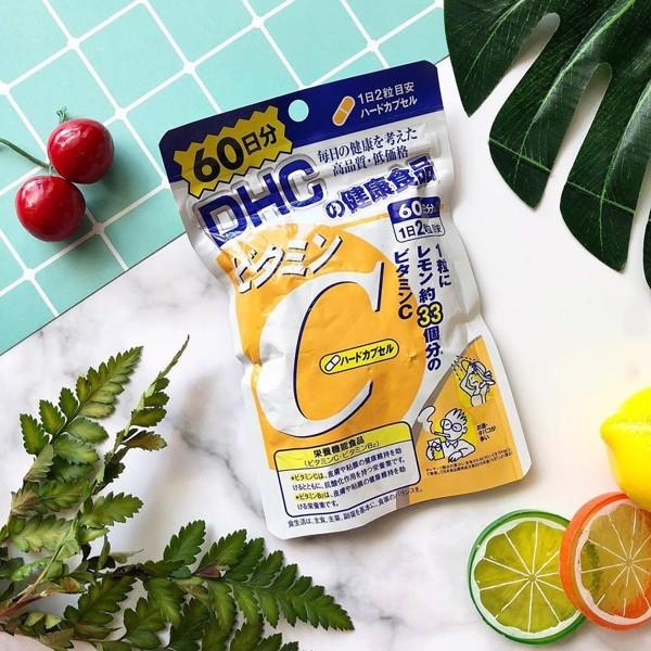 Viên uống DHC Vitamin C Nhật Bản 60 ngày 120 viên cao cấp
