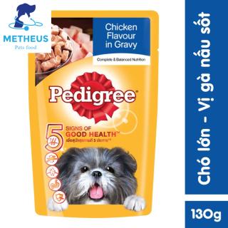 Pate Thức Ăn Mềm Cho Chó Lớn Pedigree Gói 130g - Metheus shop thumbnail