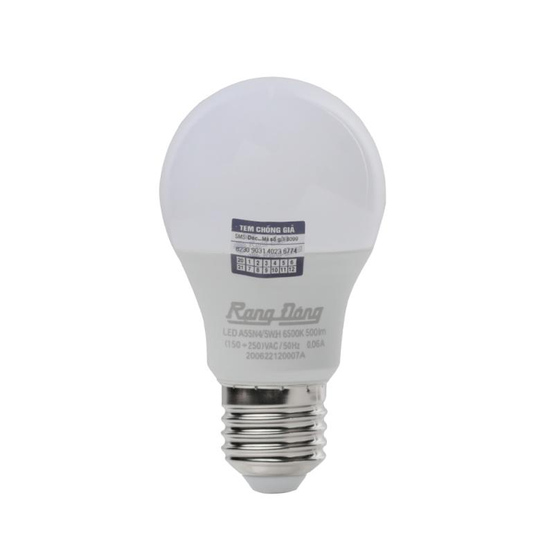 Bóng đèn LED BulD tròn Rạng Đông 5W