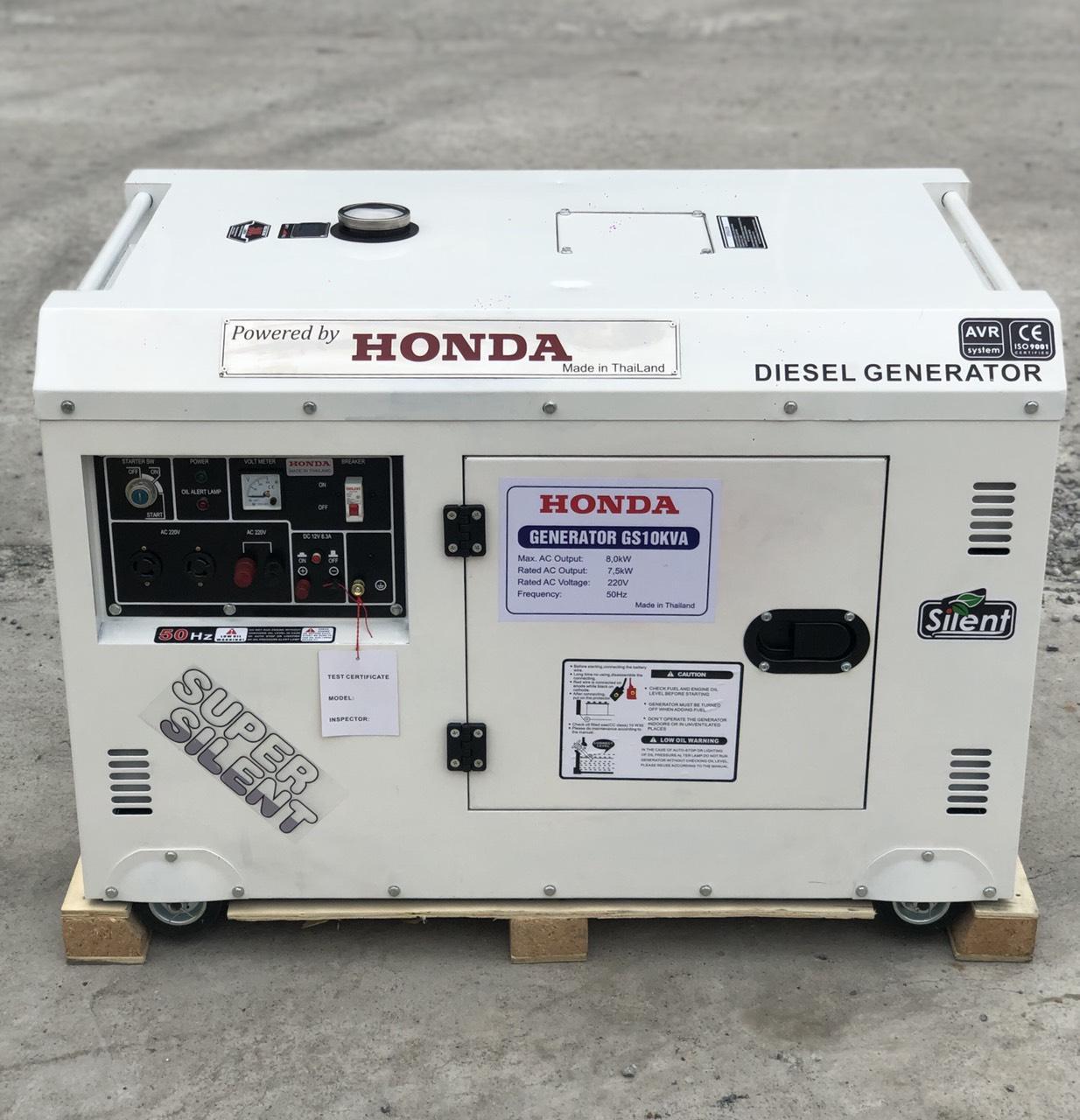 Máy Phát Điện Chạy Dầu HONDA  10KVA