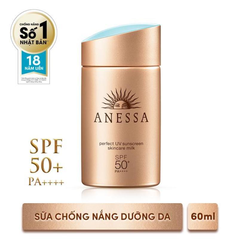 Anessa- Kem Chống Nắng Dưỡng Da Dạng Sữa Bảo Vệ Hoàn Hảo Anessa Perfect UV Sunscreen Skincare Milk SPF 50+ Pa++++ nhập khẩu