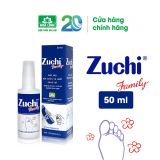Xịt khử mùi Zuchi Family 50ml thumbnail
