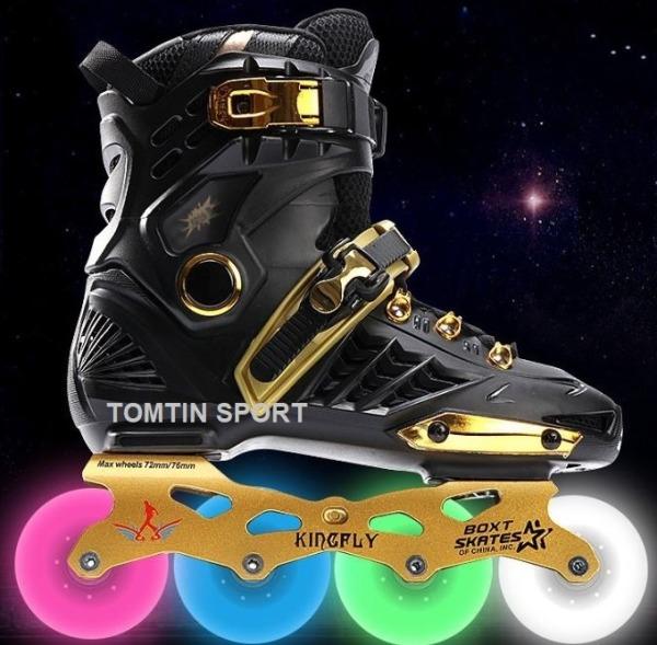 Giá bán Giày Trượt Patin Người lớn 8 Bánh Phát Sáng Weiqui Kingfly size từ 38-44 phù hợp với nam và nữ [TOMTIN SPORT]