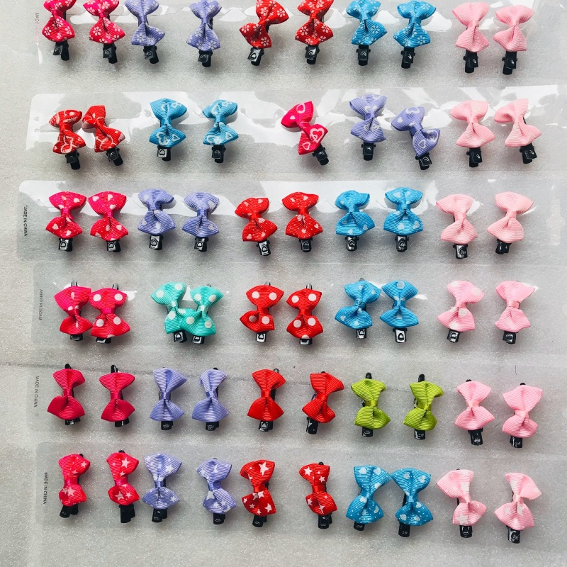 Set 10 KẸP NƠ đủ màu cho bé cao cấp