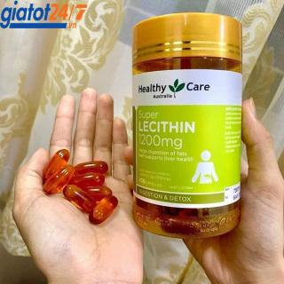 Mầm Đậu Nành Healthy Care Super Lecithin 1200mg 100 Viên thumbnail