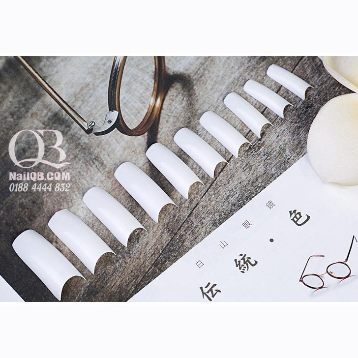 Móng giả nối móng đắp gel, đắp bột (móng tip) bịch 500 móng Yuecainail chính hãng