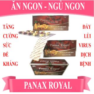 [COMBO 3 HỘP] TPCN [Ăn ngon Ngủ ngon] - Viên Bổ Panax Royal (Hộp 6 vỉ x 10 viên) - Giúp bồi bổ cơ thể, tăng cường sức đề kháng, tăng cường hấp thu và chuyển hóa chất dinh dưỡng. Giúp ăn ngon, ngủ ngon. thumbnail