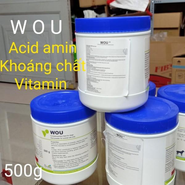 Wou - Cung Cấp Acid Amin Khoáng Chất & Vitamin Cho Thú Cưng Của Bạn