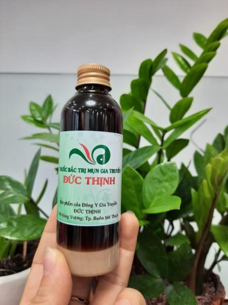 Thảo dược  TINH CHẤT tai tạo trj MỤN - NÁM sáng da AN TOÀN HIỆU QUẢ 100% HANDMADE chai 100ml