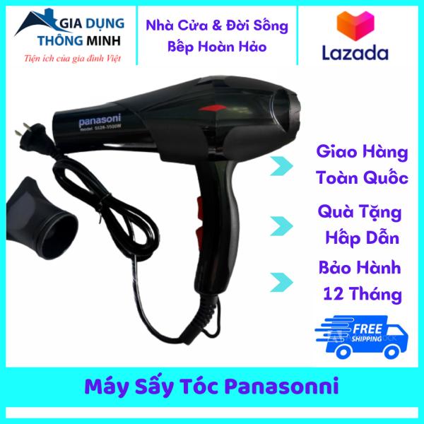 Máy sấy tóc gia đình Panasonni công suất 3500W cực mạnh, tích hợp công nghệ bảo vệ tóc tránh gãy tóc gây hư tổn giá rẻ