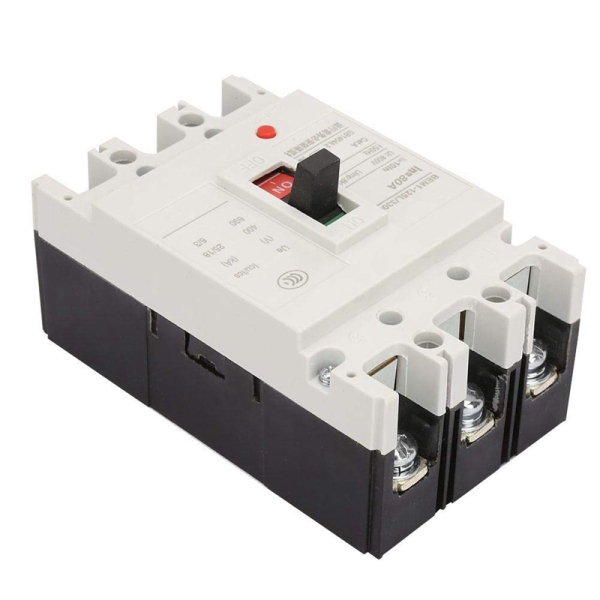 3P+N Leakage Protection Circuit Breaker BEM1-125L/3300 800V 80A Air Switch Circuit Breaker with Plastic Case