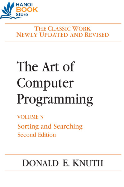 The Art of Computer Programming Volume 3 Sorting and Searching - Hanoi bookstore