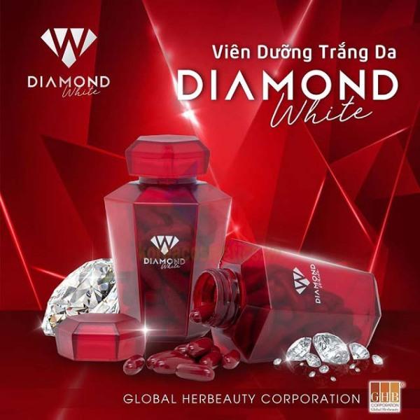 (chính hãng mới) Viên uống trắng da Ngọc Trinh Beauty Diamond White Plus 5.0 tem cào