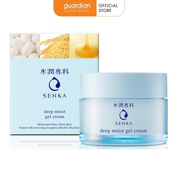Gel Dưỡng Cấp Ẩm Chuyên Sâu Senka Deep Moist Gel Cream 50g giá rẻ