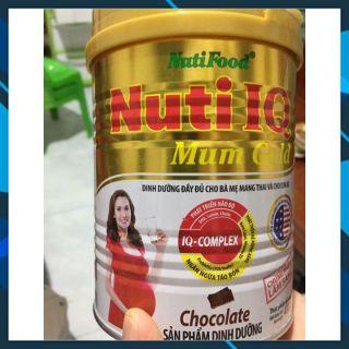 Sữa bột Nuti IQ Mum Gold Lon 400g dành cho bà bầu (hương Chocolate + Vanila) của Nutifood thumbnail