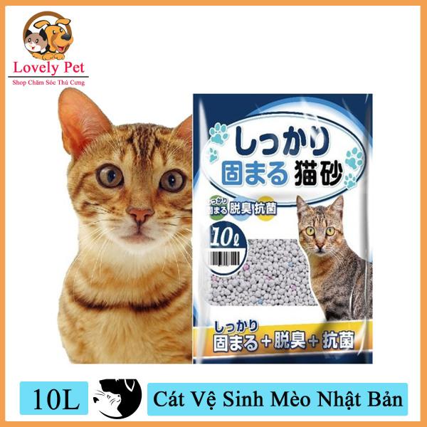 (Xả kho 3 ngày) [Mã WA090 giảm 49k đơn 315k] Lovely Pet - Cát Vệ Sinh Mèo Nhật Bản Chất Lượng Tốt