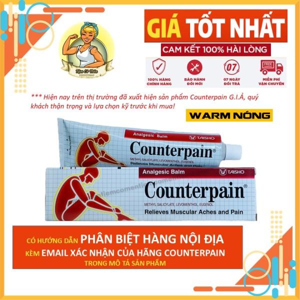 [HCM]Dầu Xoa Bóp Counterpain Màu Đỏ - Nóng - Đủ Size 30g - 60g -120g - Hàng Chuẩn Nội Địa Thái Lan