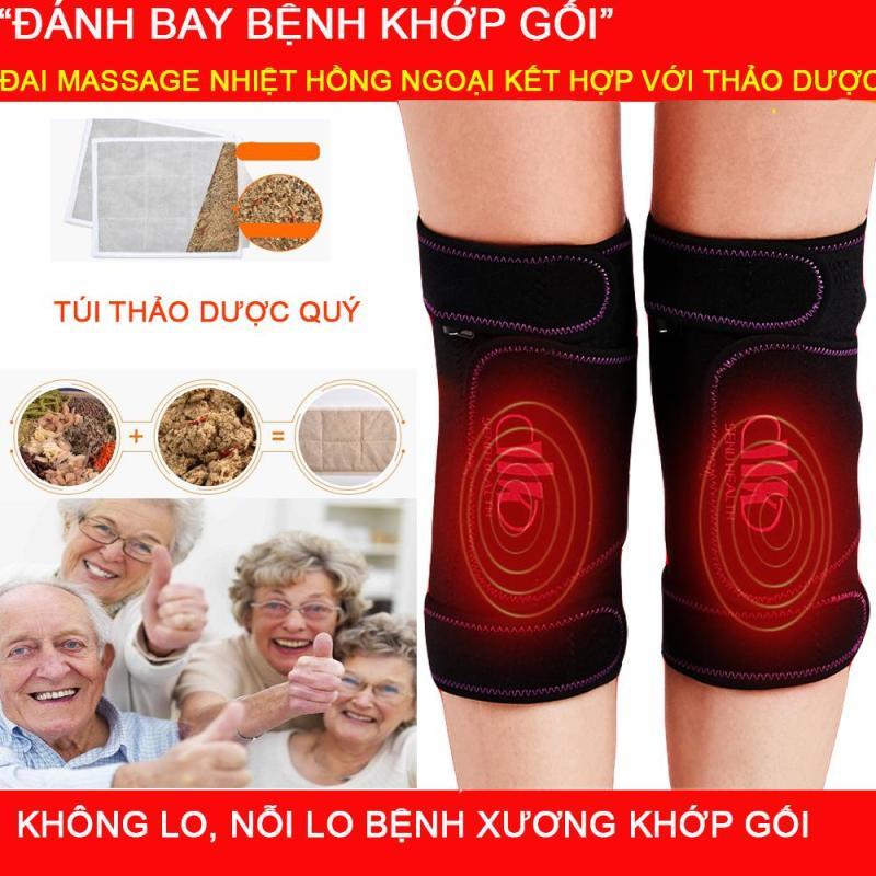 HOT HOT..Máy Massage,Máy  Massage chân xung Điện Nhiệt Hồng Ngoại Khớp Gối  Kết Hợp Miếng Thảo Dược Điều Trị Các bệnh xương khớp ,gai khớp  gối