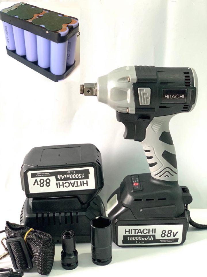 Deal Giảm Giá Máy Siết Bulong Hitachi 88v 2 Pin