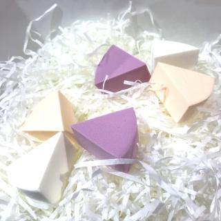 Mút tán kem 6 miếng,mút trang điểm bằng chất liệu tự nhiên thumbnail