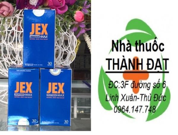 (mua 4 tặng 1) JEX MAX Hộp 30 viên -hỗ trợ Phòng Ngừa Và Làm Chậm Quá Trình Thoái Hóa Xương Khớp
