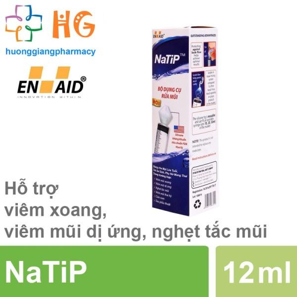 Dụng cụ rửa mũi NaTip (Bộ 12ml)