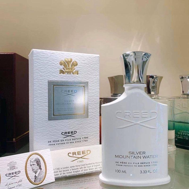 Nước Hoa Unisex CREED - Silver Mountain Water Unisex 100ml [Authetic] nhập khẩu
