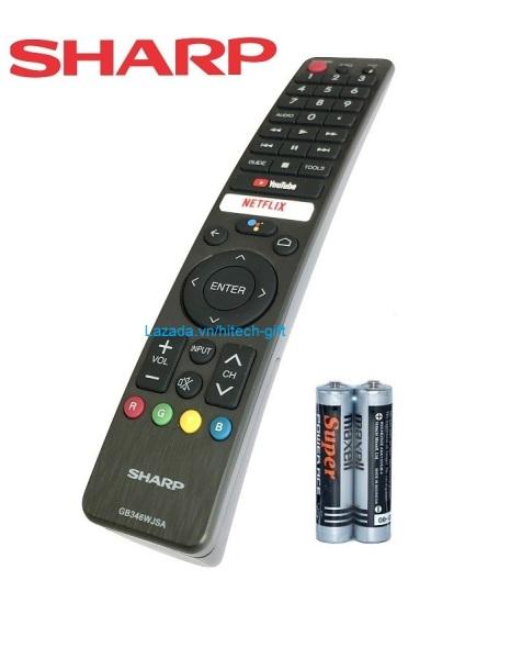 Bảng giá Remote Điều Khiển Giọng Nói TV SHARP - Smart TV, Android Tivi GB346WJSA