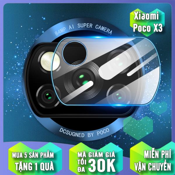 [Nhập mã EXCLUSIVE giảm thêm 10%] Mua 1 Tặng 1 - Kính cường lực Camera cho Xiaomi Poco X3 NFC