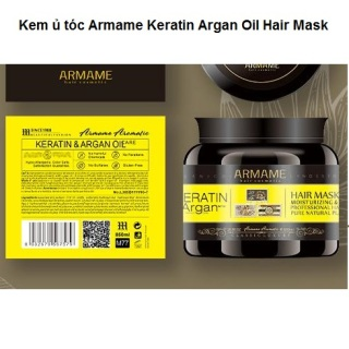 Kem ủ tóc Armame Keratin with Argan Oil Hair Mask Italy 850ml thumbnail