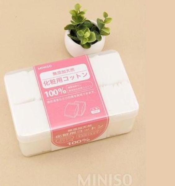 Bông Tẩy Trang Miniso Hộp 1000 Miếng giá rẻ