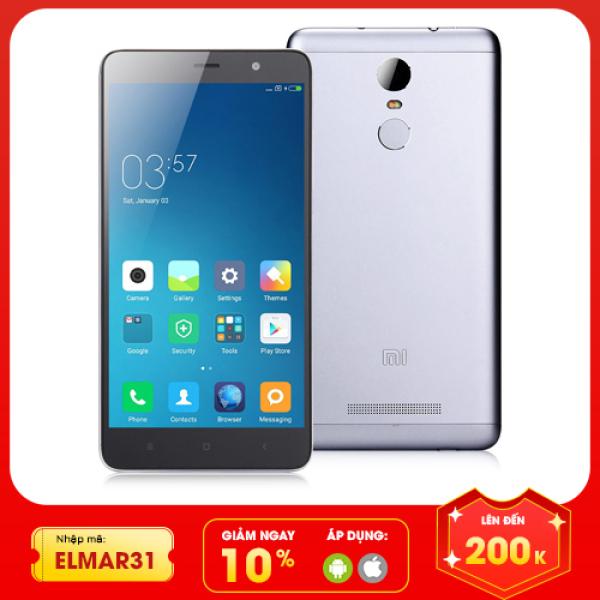 [Nhập ELMAR31 giảm 10% tối đa 200k đơn từ 99k]Xiaomi Redmi Note 3 giá rẻ cấu hình khủng RAM 3GB bộ nhớ 32GB có 4g wifi đầy đủ