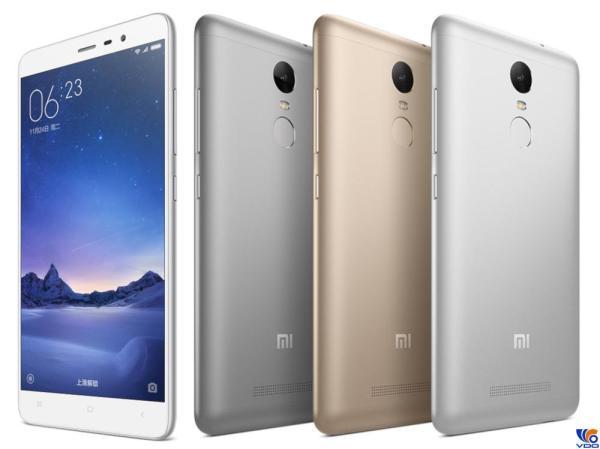 [ Xả Kho ] Điện Thoại Cảm Ứng Smartphone Xiaomi Redmi Note 3 (3GB/32GB) - 2 Sim ( 1 Nano SIM & 1 Micro SIM ) - Có Tiếng Việt - Dung lượng pin 4000 mAh - Màn hình rộng 5.5 inches