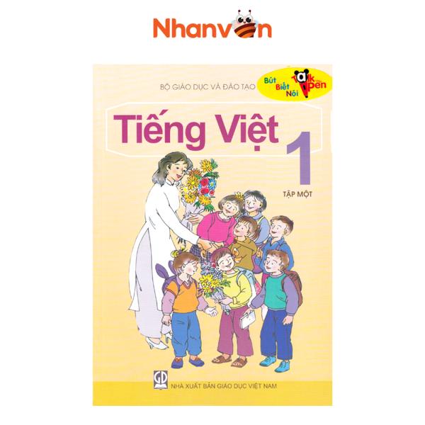 Sách - Sách Tiếng Việt - Có Âm Thanh - Lớp 1 - Tập 1 - Độc quyền Nhân văn