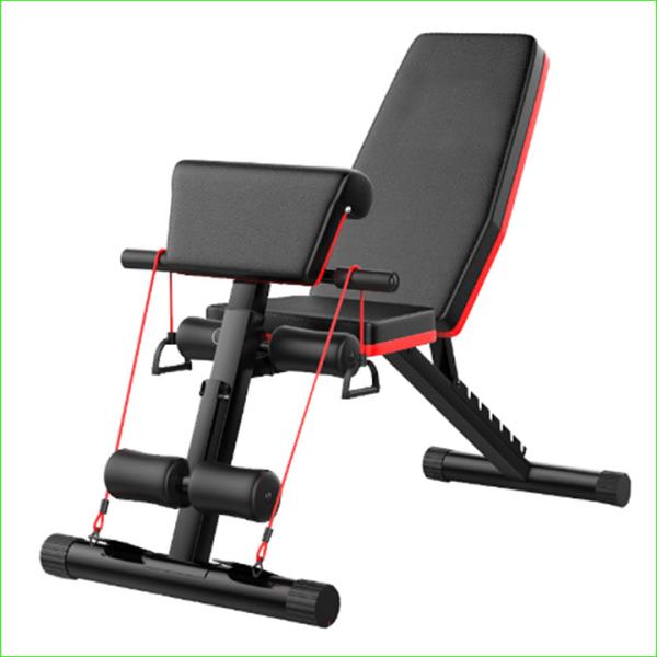 Bảng giá Máy tập thể hình đa năng, Ghế tập cơ bụng ghế tập gym thể thao gấp gọn da PU cao cấp + Tặng kèm tai nghe Bluetooth
