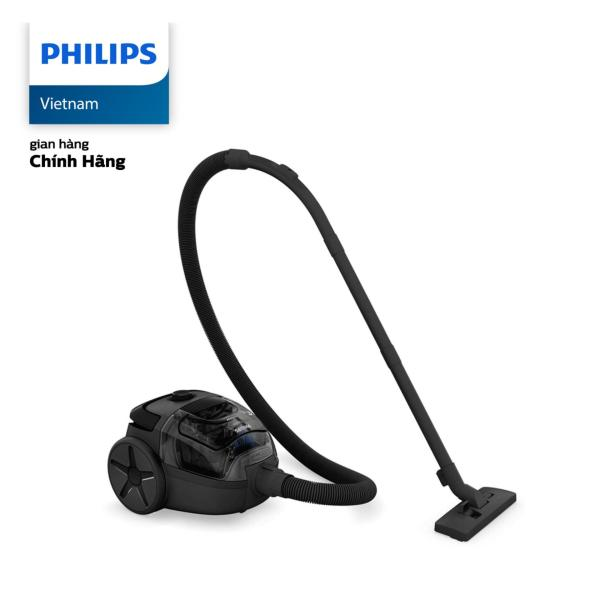 Máy hút bụi Philips FC8087 1L 1400W (đen) - Hàng phân phối chính hãng, bảo hành 24 tháng - Dung tích hộc: 1.1L, Bộ lọc dễ vệ sinh, có thể rửa được