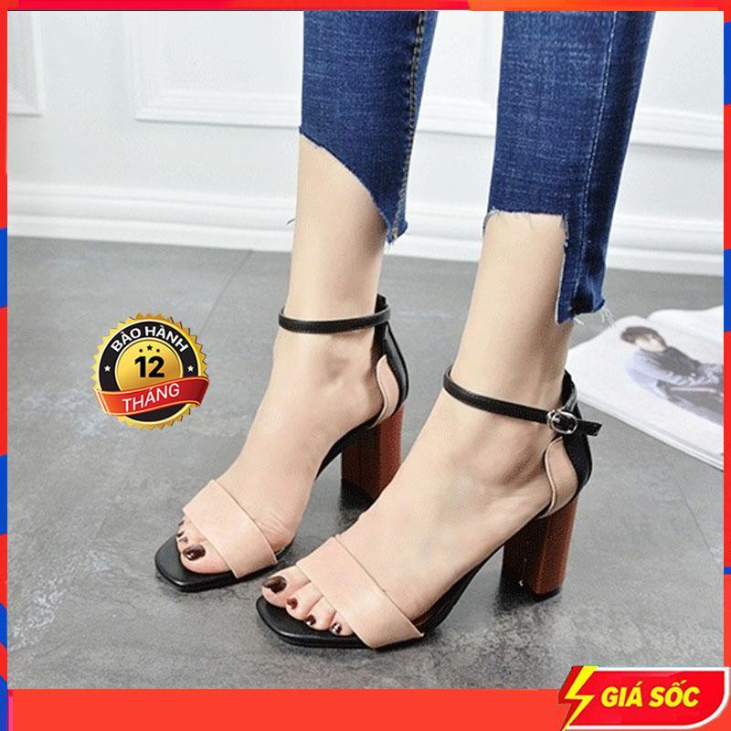 Deal Ưu Đãi Giày Nữ Cao Gót Giày Sandal Nữ Đi Học Giày Nữ Đi Học - CG101